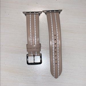 Leather Kate spade Apple Watch band